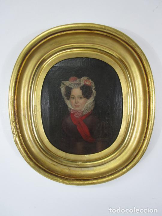 Arte: Antonio María Esquivel (Sevilla 1806- Madrid 1857) - Retrato al Óleo - Condesa de Viadrina - Foto 31 - 226769130