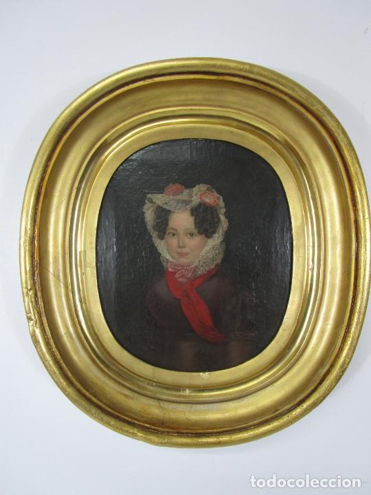 Arte: Antonio María Esquivel (Sevilla 1806- Madrid 1857) - Retrato al Óleo - Condesa de Viadrina - Foto 2 - 226769130