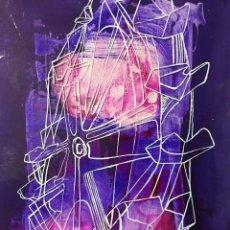 Arte: LA NORIA.CIRO ODUBER (PANAMÁ 1921- ESPAÑA 2002). MEDIDAS 42X32 CMS.TÉCNICA MIXTA. Lote 226869091