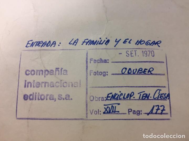 Arte: La Familia y el Hogar.Ciro Oduber (1921-2002). Medidas 42x32 cms.Técnica Mixta de 1970 - Foto 2 - 226888975