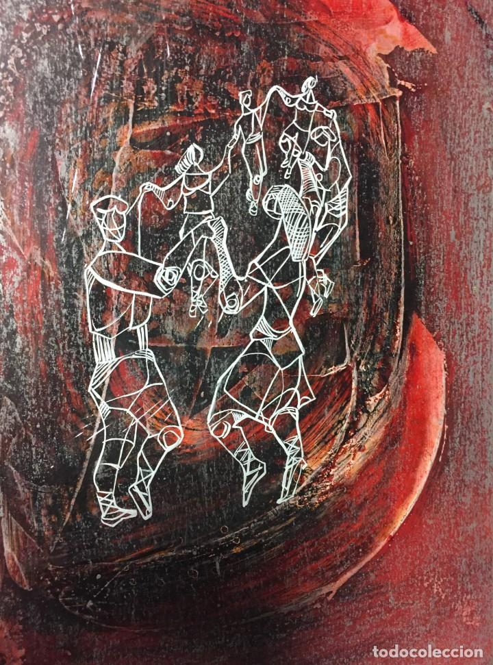 Arte: La Sardana. Ciro Oduber (1921-2002). Medidas 42x32 cms.Técnica Mixta - Foto 2 - 226902495