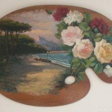 Arte: FERNANDO MARTÍNEZ CHECA (1858-1933) - COMPOSICIÓN.OLEO/TABLA.FIRMADO.1908.. Lote 226942875