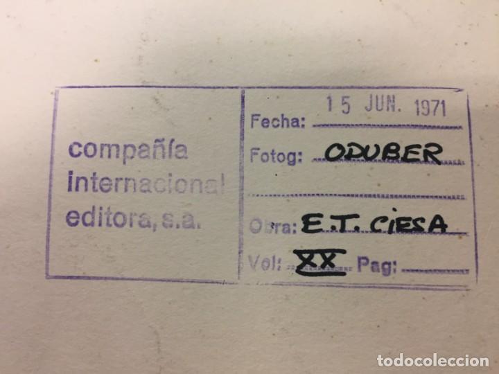 Arte: Técnica mixta original de Ciro Oduber, óleo sobre cartón y negativo,42x32,1971 - Foto 2 - 227057640