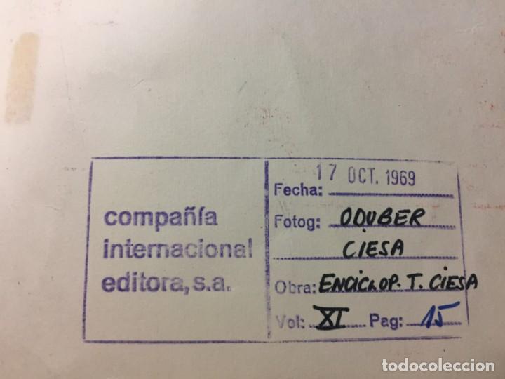 Arte: Técnica mixta de Ciro Oduber, óleo sobre cartón y negativo,42x32,1969 - Foto 2 - 227071500