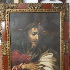 Arte: ECCE HOMO, CRISTO, OLEO LIENZO.. Lote 227556735