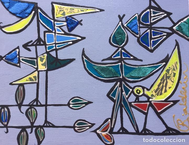 """""""CON LA MIRADA DE DOMÍNGUEZ"""" OBRA DE LA PINTORA CANARIA RUTH CALDERÍN (LPGC 1977) (Arte - Pintura - Pintura al Óleo Contemporánea )"""