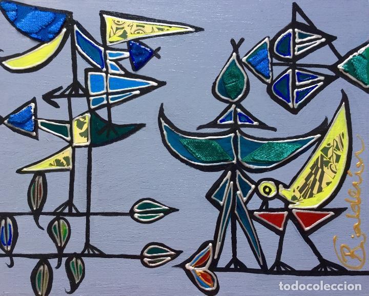 """Arte: """"CON LA MIRADA DE DOMÍNGUEZ"""" obra de la pintora canaria Ruth Calderín (LPGC 1977) - Foto 2 - 227557470"""