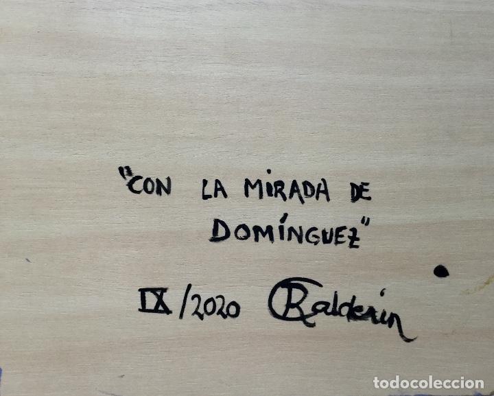 """Arte: """"CON LA MIRADA DE DOMÍNGUEZ"""" obra de la pintora canaria Ruth Calderín (LPGC 1977) - Foto 3 - 227557470"""