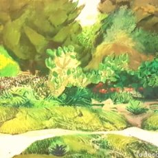 Arte: MANUEL REY FUEYO (FEDERICO),LANGREO ,ASTURIAS 1950. EL SALER ,ÓLEO/ LIENZO 73 X 84 , 1973-74. Lote 227551370