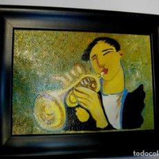 Arte: OLEO SOBRE LIENZO FIRMADO SOLE ( 23 X 19 CTMS CON MARCO) INCLUIDO. Lote 227675815