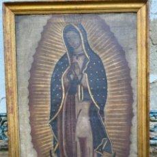 Arte: VIRGEN DE GUADALUPE S. XVIII. Lote 227838815