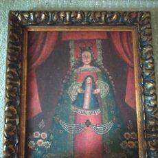 Arte: CUADRO VIRGEN CON NIÑO ESCUELA CUZQUEÑA. Lote 227945940