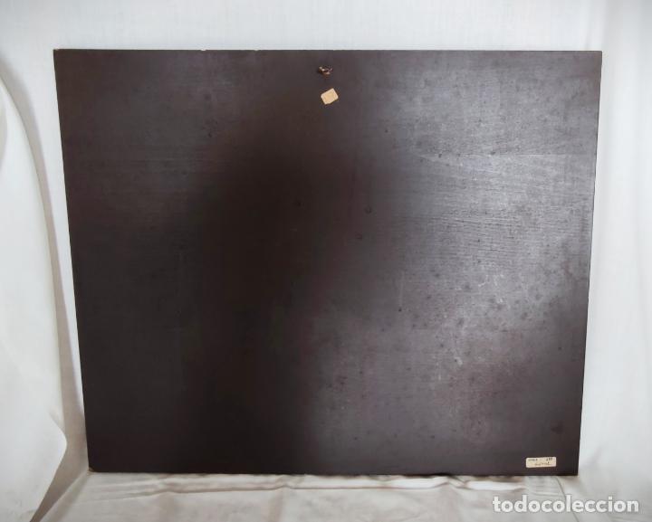 Arte: OLEO SOBRE TABLA - MARCELLO CASSINARI VETTOR - DESNUDO - 40 X 30 CM APROX. - BASTIDOR MADERA - Foto 5 - 228019230
