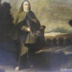 Arte: SANTA ISABEL DE HUNGRÍA, SIGLO XVII. Lote 228046990