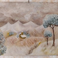 Arte: PINTURA AL ÓLEO. AUTOR DESCONOCIDO PARA MÍ.. Lote 228105725