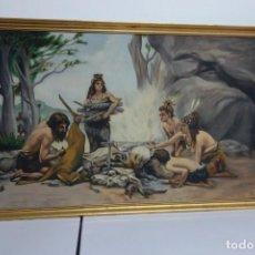 Arte: CUADRO OLEO SOBRE LIENZO FIRMA POR IDENTIFICAR. Lote 228187325