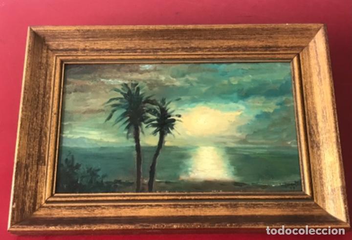 ÓLEO SOBRE TABLA FIRMADO VILAVERT 1979. (Arte - Pintura - Pintura al Óleo Contemporánea )