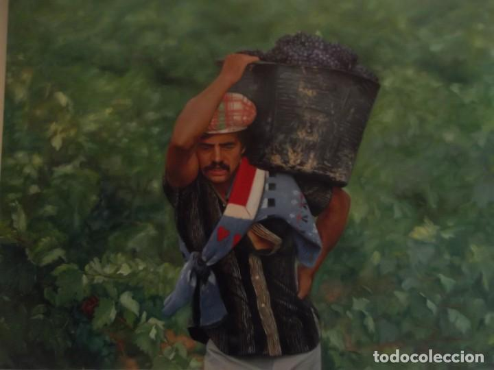 "Arte: OLEO HIPERREALISMO "" Vendimia "" OBRA FIRMADA POR EL ARTISTA 60 X 50 CM - Foto 2 - 228506060"