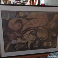 Art: CUADRO DIBUJADO Y FIRMADO SANS. Lote 228628885