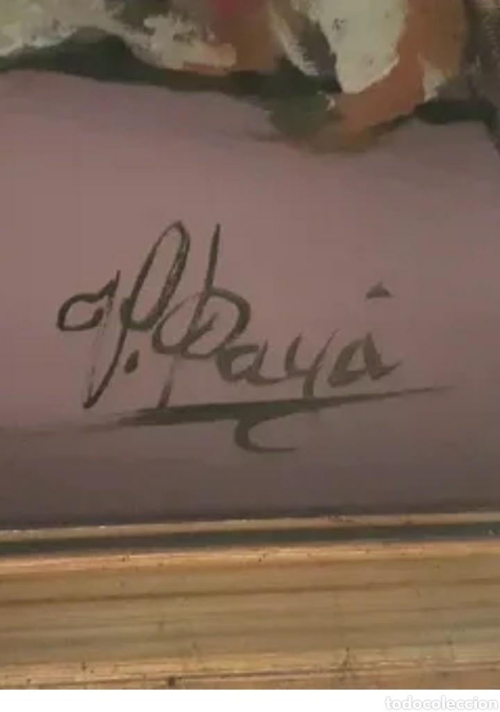 Arte: Oleo sobre lienzo, 90,5 x 69,5 cm , firmado V.Paya - Foto 5 - 228941975