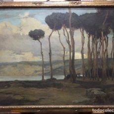 Arte: ÓLEO EDMOND LESELLIER 1885-1920 (SE PUEDE VER EN MALLORCA). Lote 229251780