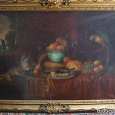 Arte: OLEO GRAN BODEGON FLAMENCO SIGLO XVIII. Lote 229612745