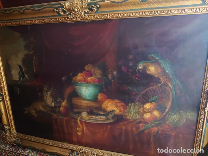 Arte: OLEO GRAN BODEGON FLAMENCO SIGLO XVIII - Foto 2 - 229612745