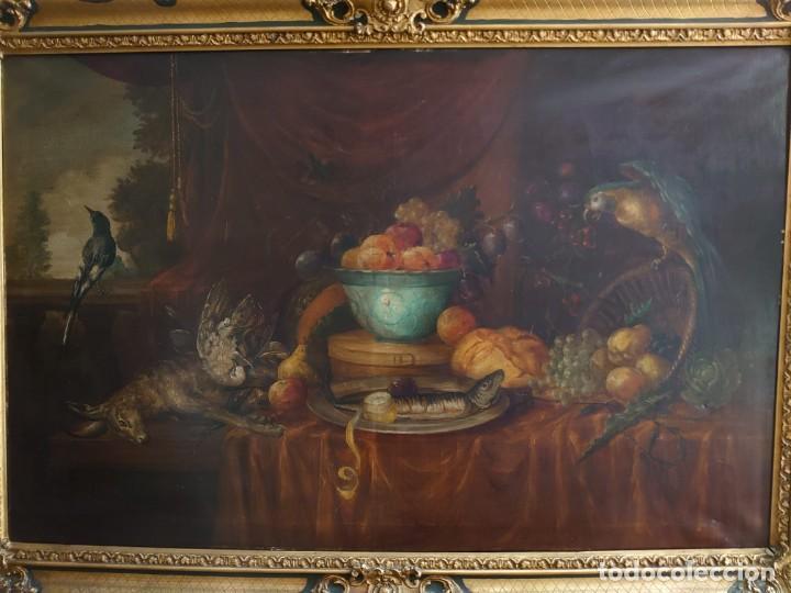 Arte: OLEO GRAN BODEGON FLAMENCO SIGLO XVIII - Foto 3 - 229612745