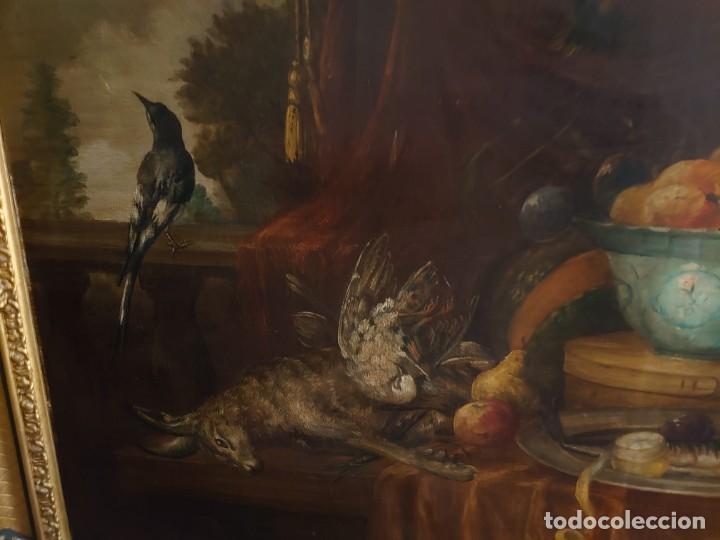 Arte: OLEO GRAN BODEGON FLAMENCO SIGLO XVIII - Foto 5 - 229612745