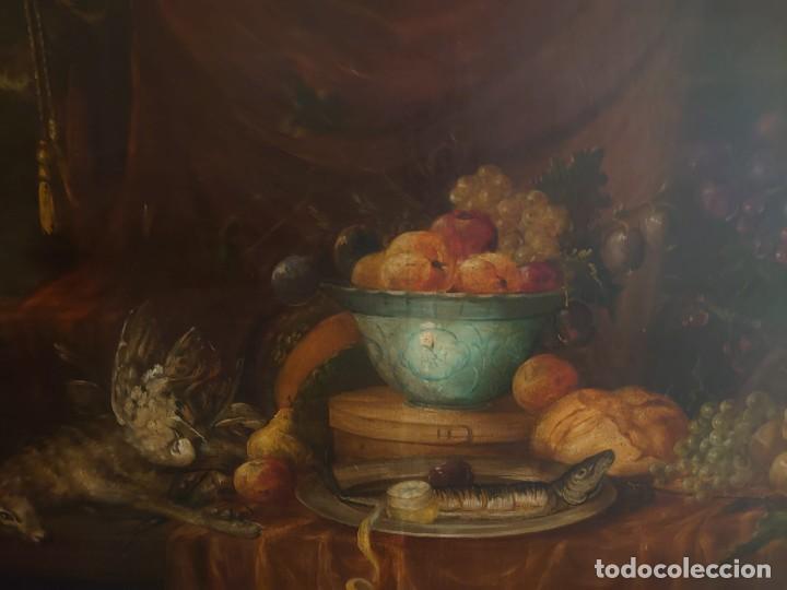 Arte: OLEO GRAN BODEGON FLAMENCO SIGLO XVIII - Foto 6 - 229612745
