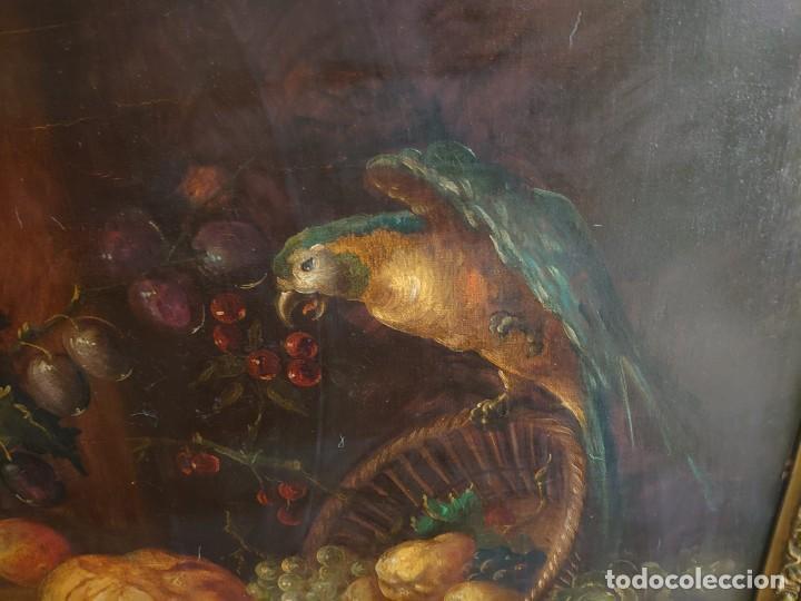 Arte: OLEO GRAN BODEGON FLAMENCO SIGLO XVIII - Foto 7 - 229612745