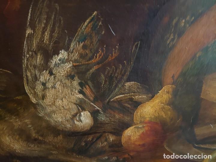 Arte: OLEO GRAN BODEGON FLAMENCO SIGLO XVIII - Foto 9 - 229612745
