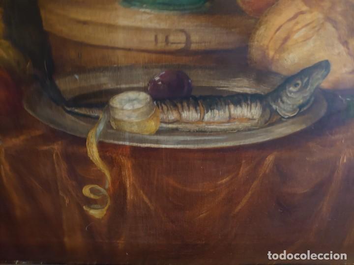 Arte: OLEO GRAN BODEGON FLAMENCO SIGLO XVIII - Foto 11 - 229612745