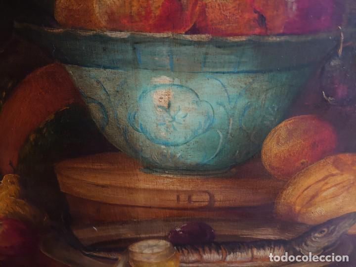 Arte: OLEO GRAN BODEGON FLAMENCO SIGLO XVIII - Foto 12 - 229612745