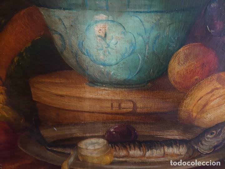 Arte: OLEO GRAN BODEGON FLAMENCO SIGLO XVIII - Foto 13 - 229612745