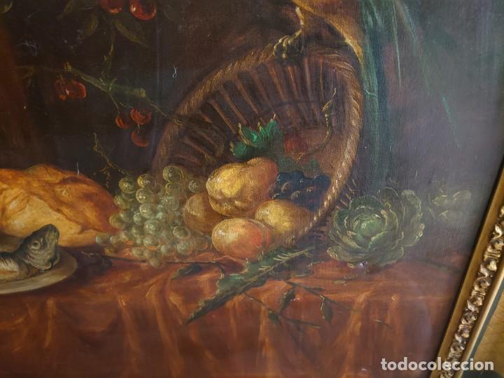 Arte: OLEO GRAN BODEGON FLAMENCO SIGLO XVIII - Foto 14 - 229612745