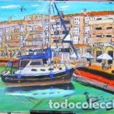 Arte: ALMERIMAR, EL SUEÑO, ÓLEO SOBRE LIENZO EN BASTIDOR, 40X50 CM. DE CRESPO. Lote 229633245