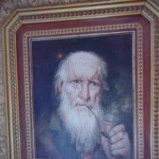 Arte: OLEO, RETRATO ANCIANO POR MIÑA. Lote 229790035