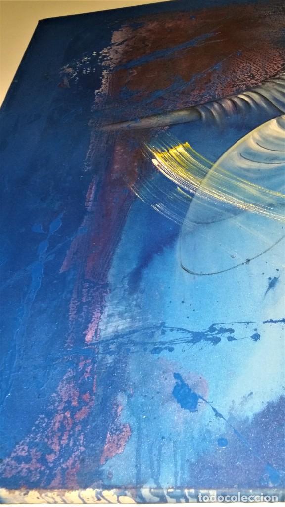 Arte: Fabulosa pintura gigante de Derviche o bailarín Turco (óleo sobre tela) de 180 x 120 cm - Foto 8 - 229908110