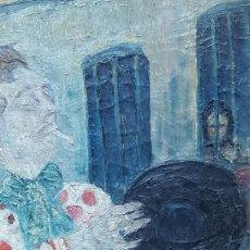 Arte: PALENCIA PEREZ BENJAMÍN (1894-1980)ATRIBUIDO PINTOR ESPAÑOL. OLEO SOBRE TELA. Lote 230108240