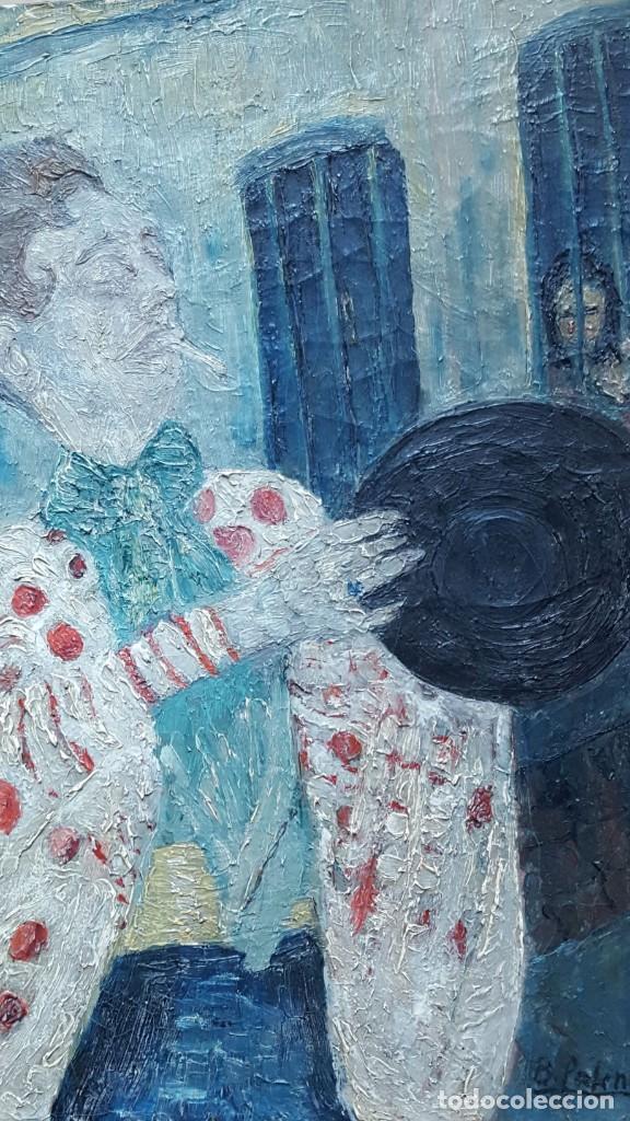 Arte: PALENCIA PEREZ Benjamín (1894-1980)atribuido Pintor Español. Oleo sobre tela - Foto 3 - 230108240