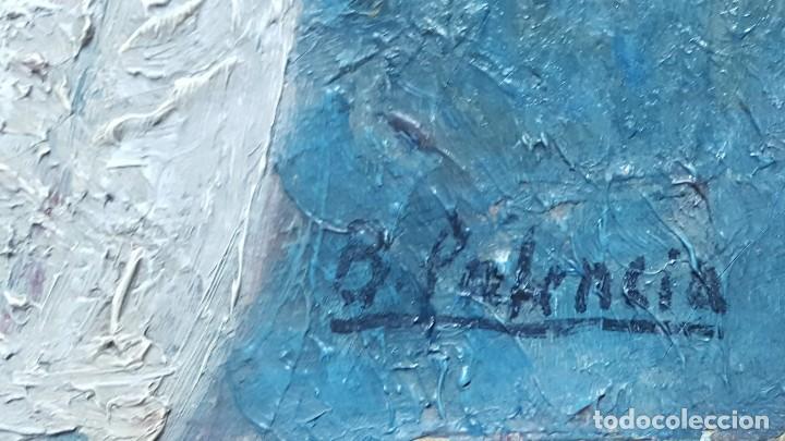 Arte: PALENCIA PEREZ Benjamín (1894-1980)atribuido Pintor Español. Oleo sobre tela - Foto 4 - 230108240