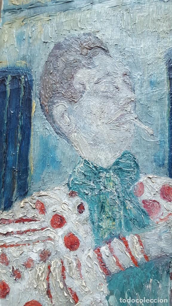 Arte: PALENCIA PEREZ Benjamín (1894-1980)atribuido Pintor Español. Oleo sobre tela - Foto 5 - 230108240