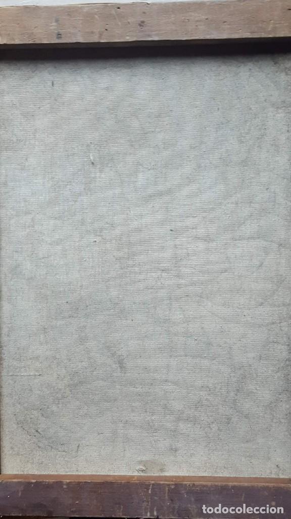 Arte: PALENCIA PEREZ Benjamín (1894-1980)atribuido Pintor Español. Oleo sobre tela - Foto 6 - 230108240