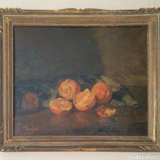 Arte: JOSEP SERRASANTA (BUENOS AIRES, 1916-1998) - NATURALEZA MUERTA.OLEO/TELA.FIRMADO.. Lote 223125745