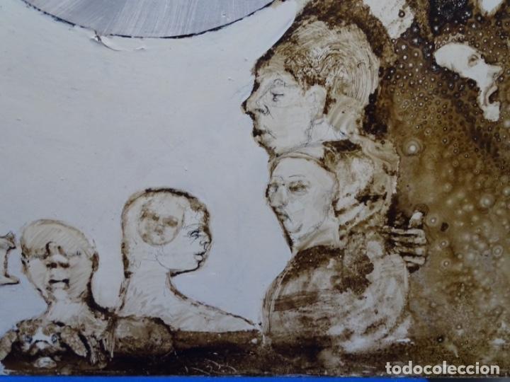 Arte: ÓLEO SOBRE TABLA DE MAÏTHE DOBLER.EXCELENTE DOMINIO DEL DIBUJO. - Foto 6 - 230285380