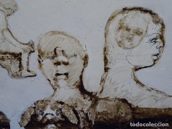 Arte: ÓLEO SOBRE TABLA DE MAÏTHE DOBLER.EXCELENTE DOMINIO DEL DIBUJO. - Foto 7 - 230285380