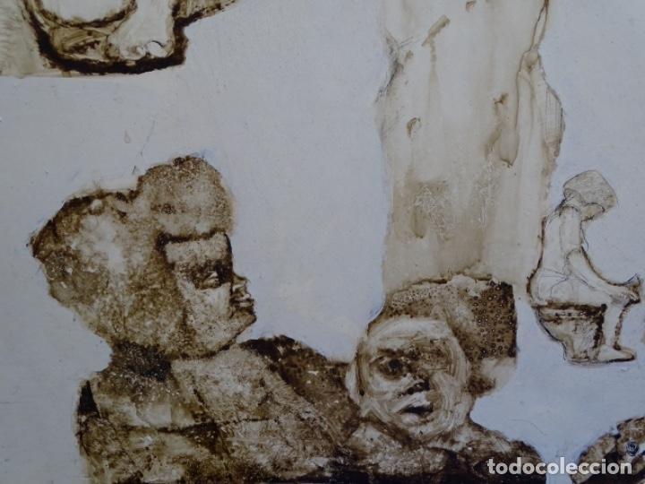 Arte: ÓLEO SOBRE TABLA DE MAÏTHE DOBLER.EXCELENTE DOMINIO DEL DIBUJO. - Foto 8 - 230285380