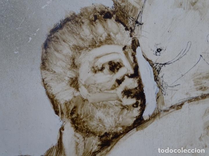 Arte: ÓLEO SOBRE TABLA DE MAÏTHE DOBLER.EXCELENTE DOMINIO DEL DIBUJO. - Foto 9 - 230285380