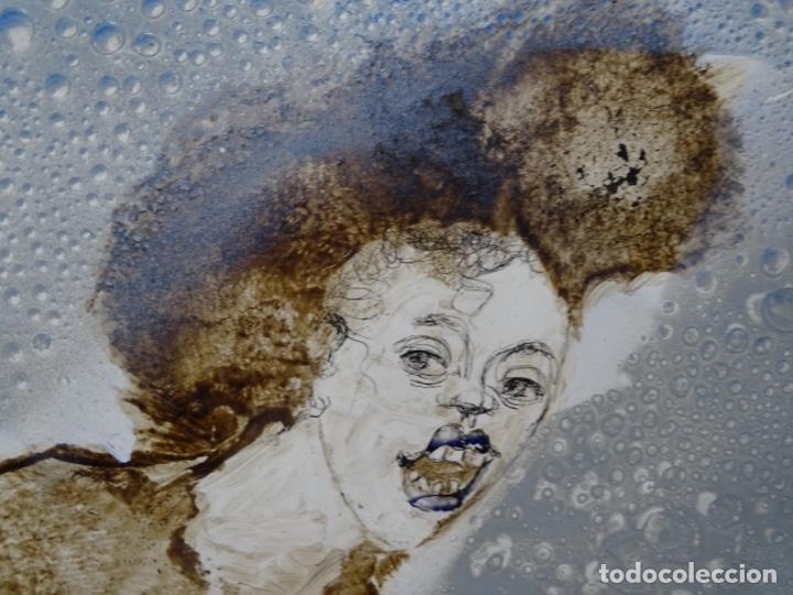 Arte: ÓLEO SOBRE TABLA DE MAÏTHE DOBLER.EXCELENTE DOMINIO DEL DIBUJO. - Foto 15 - 230285380